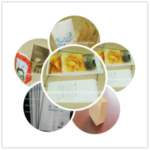 Automatic Roll Feeding Square Bottom Paper Bag Machine pictures & photos