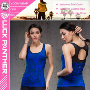 Custom Stringer Women Print Gym Tank Top pictures & photos