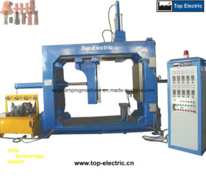 Automatic Pressure Gelation Tez-1010 Model Mould Clamping Machine
