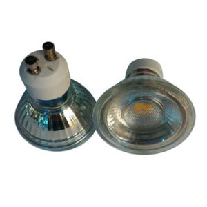 Glass GU10/MR16 3W COB LED Spotlight Bulbs pictures & photos