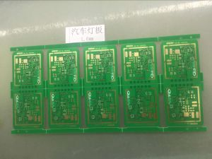 Double Sided PCB Printed Circuit Board Multilayer PCB for Automobile Lamps