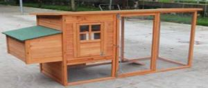 Wch001 Wooden Pet Poultry Rabbit Cage Hutch Chicken Kennel House