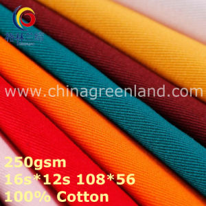 100%Cotton Twill Thick Fabric for Workwear Textile (GLLML372) pictures & photos