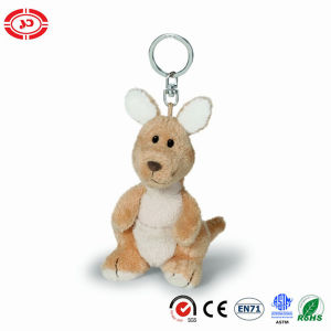 Kangaroo Tiny Plush Soft Stuffed Cute CE Toy Keychain pictures & photos