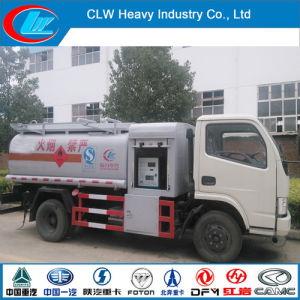 Foton 5 Cbm Mini Refueling Tank Truck with Filling Machine pictures & photos