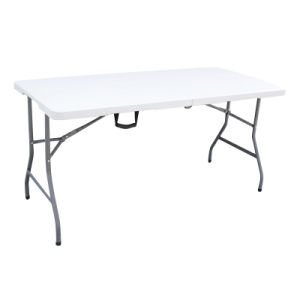 5ft Plastic Folding Camping Table pictures & photos