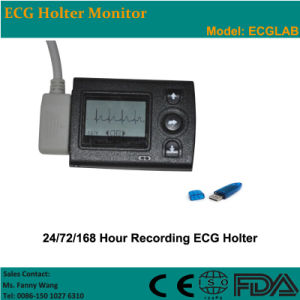 CE Approved 3-Channel LCD Holter (ECGLAB CV-3L) -Fanny pictures & photos
