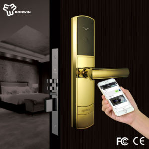 2.4GHz Zigbee Wireless NFC Door Lock pictures & photos