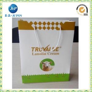 Custom Printing Luxury Black Matte Retail Paper Bag Packaging Design (JP-PB006) pictures & photos
