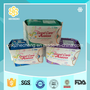 Non-Woven Ultra Thin Lady Anion Sanitary Pads (OEM) pictures & photos