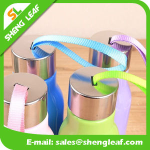 Children and Adults Convenient Custom Logo Bottle with Strap (SLF-WB043) pictures & photos