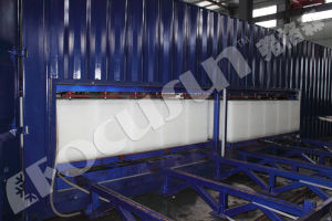 Focusun Movable Containerized Direct Refrigeration Block Ice Plant pictures & photos