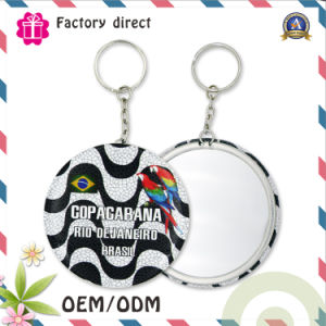 Factory Direct Custom Mirror Keychain for Wholesale pictures & photos