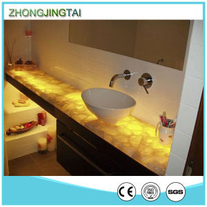 Glory Stone Flooring Tile Artificial Quartz Stone Surface Tile Countertop pictures & photos