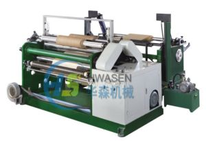 Laminating Paper Surface Rewinder Slitting Machine pictures & photos