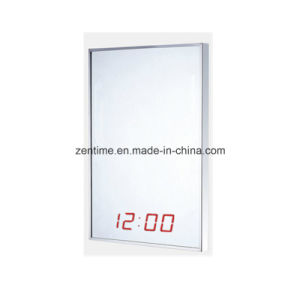 Electronic LED Digital Wall Mirror Time Clock pictures & photos