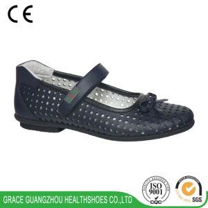 Girl′s School Shoes Summer School Footwear Breathable Footwear pictures & photos