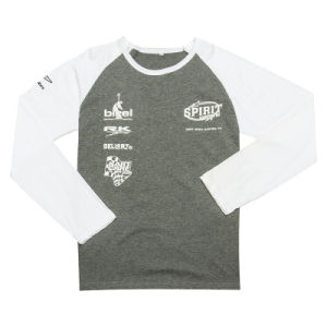 Men Customed Brand Printing Long Sleeve Tshirt New Style (TS060W) pictures & photos