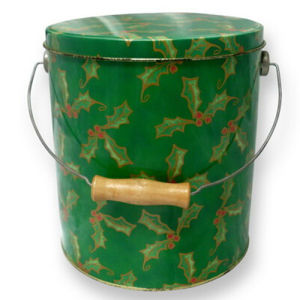 Offest Printing Round Tin Bucket