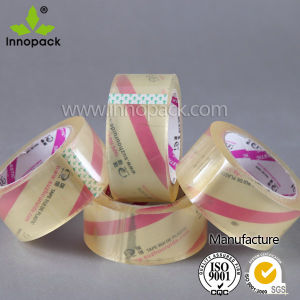 Transparent Acrylic Printed BOPP Adhesive Tape for Carton Packing pictures & photos