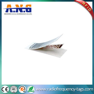 Plastic Small RFID Tag with Barcode / Disposable RFID Tags pictures & photos