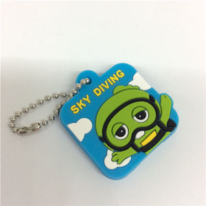 2016 Fashion Promotion Gift Customize Silicone Keyrings pictures & photos