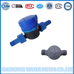 Plastic Single Jet Dry Type Water Flow Meters Dn15-Dn25 pictures & photos