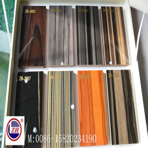 18mm Glossy Wooden UV MDF for Kitchen Cabinet Door (ZH-3953) pictures & photos