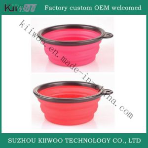 Factory Wholesale Food Grade Portable Silicone Rubber Washing Basin pictures & photos