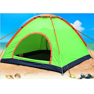 Automatic 2 Person Outdoor Camping Beach Water-Resistant Sunscreen Tent pictures & photos