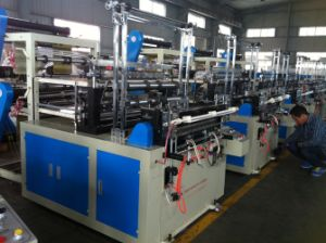 Double Layer Plastic Bag Making Machine (SHXJ-600/800) pictures & photos