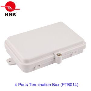4 ~ 8 Cores 4 Ports Fiber Optic Cable Termination Box (PTB014) pictures & photos