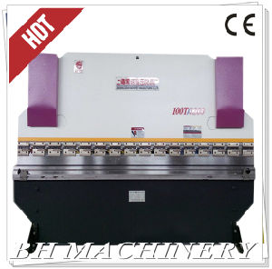 CNC Hydraulic Press Brake Wc67y 100t*3200 with Nc89/T10 pictures & photos