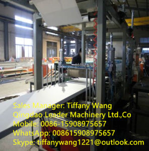 PVC Plastic Machinery Celuka Foam Board Production Line pictures & photos