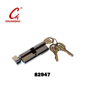 Hardware Accessories One Side Open Lock Brass Cylinder pictures & photos