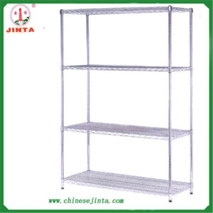 Competitive Facotry Direct Sale 4 Layer Wire Shelf (JT-F07) pictures & photos