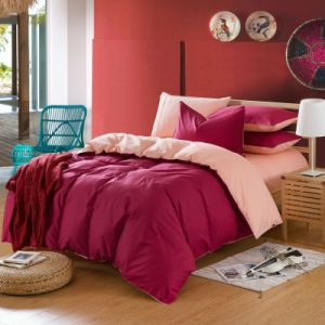 Wholesale Cheap Price 100% Cotton Color Bedding for Hotel (JRD664)