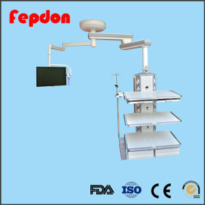 Hospital ICU Double Arm Theatre Pendant with Monitor pictures & photos