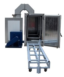 Electrostatic Gas Powered Powder Coat Curing Oven pictures & photos
