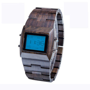 Handmade Wood Watch Natural Digital Watch pictures & photos