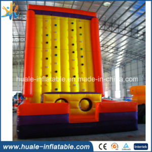 Giant Inflatable Rock Climbing Wall, Inflatable Sports Games
