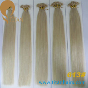 Factory Direct Sale Indian Virgin Remy Human Keratin Hair pictures & photos