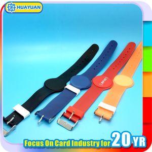 Waterproof 125kHz Tk4100 EM4200 RFID Plastic wristbands pictures & photos