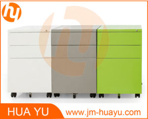 Metal Mobile Pedestal Filing Cabinet with Powder Coating pictures & photos