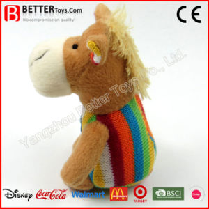 Safe Material Stuffed Animal Plush Baby Horse Toy pictures & photos