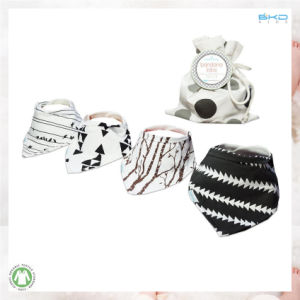 Gots Certificated Baby Accessory Fashion Printing Infant Bibs pictures & photos