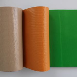 PVC Embossed Plastic Tarpaulin Roll Woth Customized Sizes and Colors pictures & photos