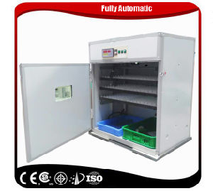 Full Automatic Egg Incubator and Hatcher for 528 Chicken Eggs pictures & photos