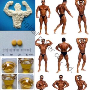 Builds Lean Muscle Anabolic Raw Steroid Hormone Powder Methenolone Acetate pictures & photos