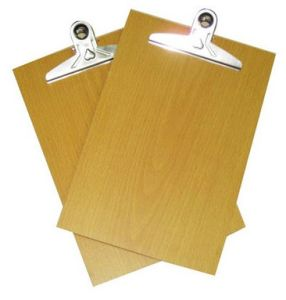 Wood Write Board Promotion, Yellow Color Write Board Gift